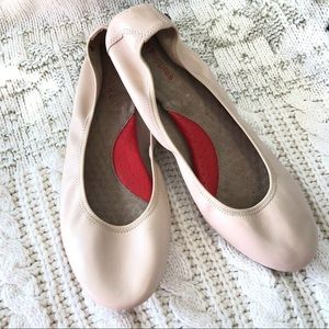 Hush Puppies Chaste Ballet Flat Nude Leather